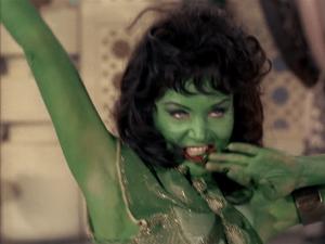 I'm glistening green